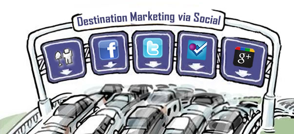 social media destination