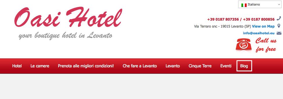 blog d'hotel