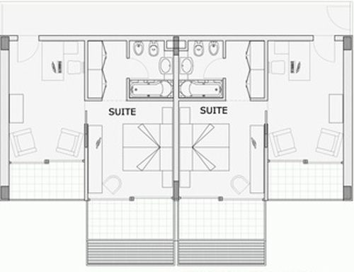 Progettazione camera d'hotel