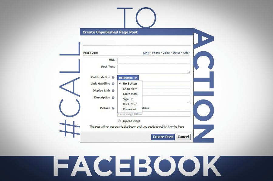 Il pulsante prenota subito nella copertina di Facebook