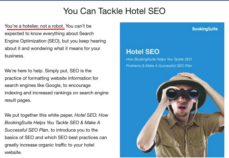BookingSuite e SEO