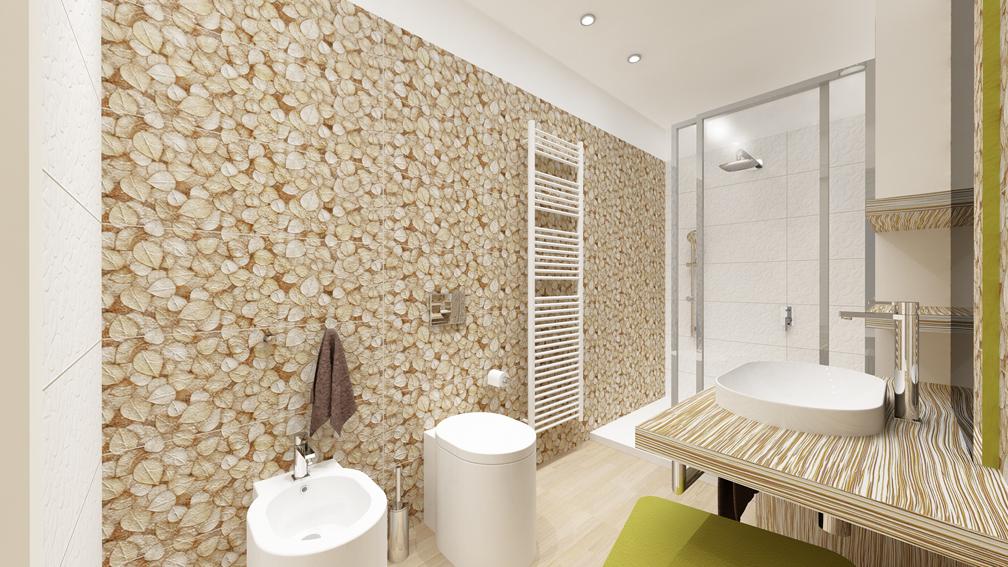 Progettazione di un boutique hotel for Doccia passante