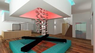 Il design della reception