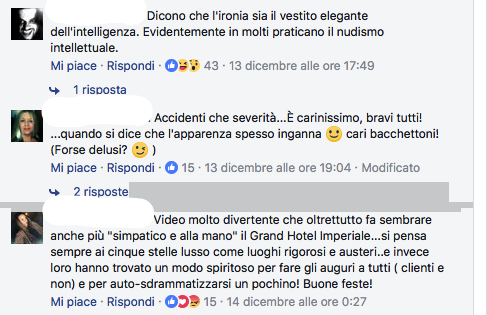Commenti su Facebook per Grand Hotel Imperiale