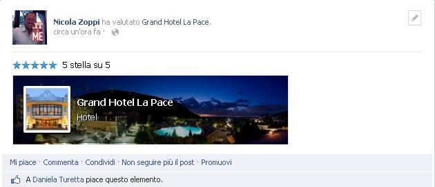 vota facebook hotel