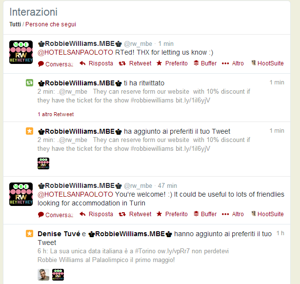 Marketing alberghiero con Twitter