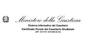 certificato penale