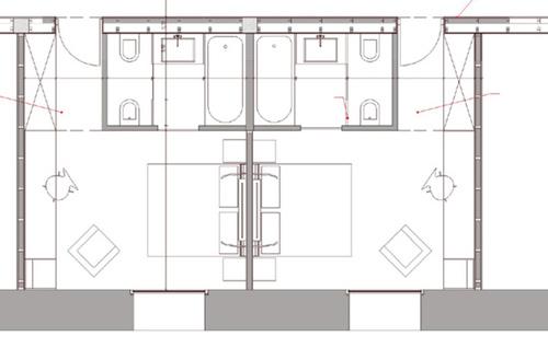 Progettare una camera di hotel