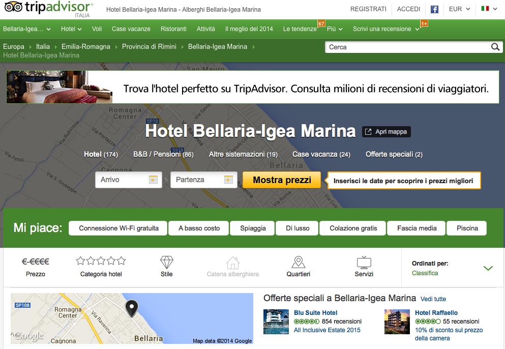 ricerca hotel bellaria-igea marina