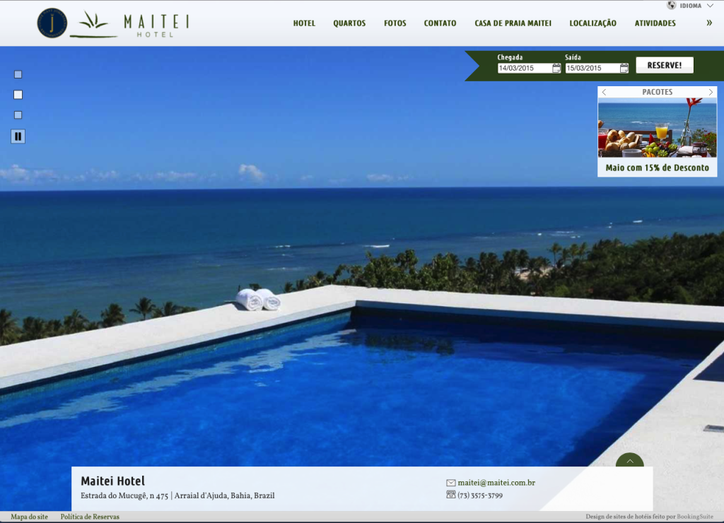 BookingSuite Home Page
