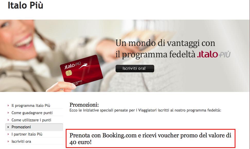 Programma fedeltà con Booking.com