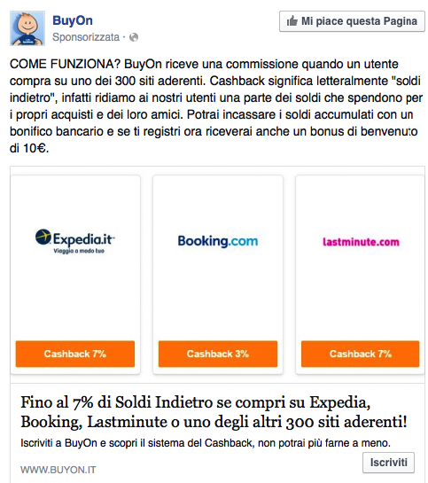 Convenienza a prenotare da Booking.com