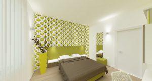 Ristrutturazione camera hotel