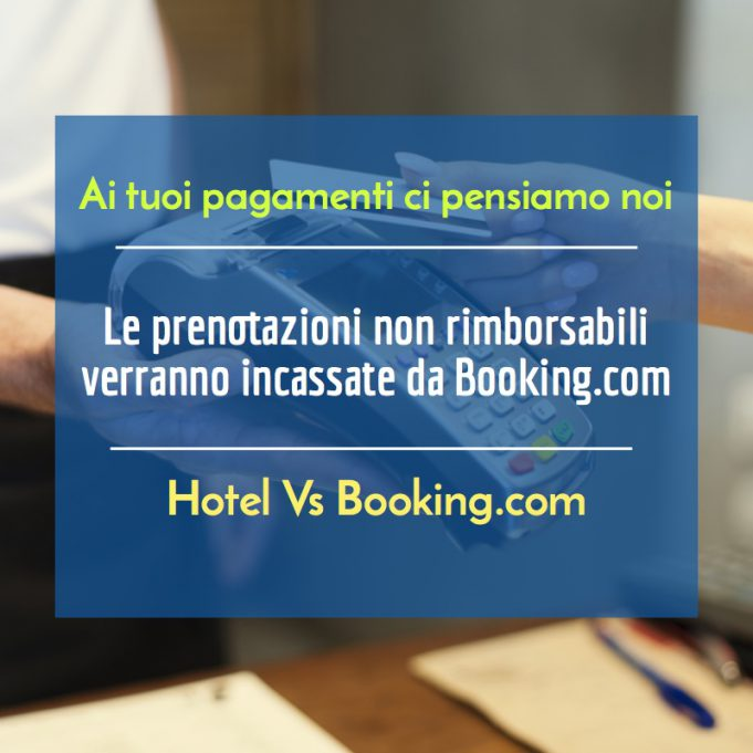 Pagamento via Booking.com