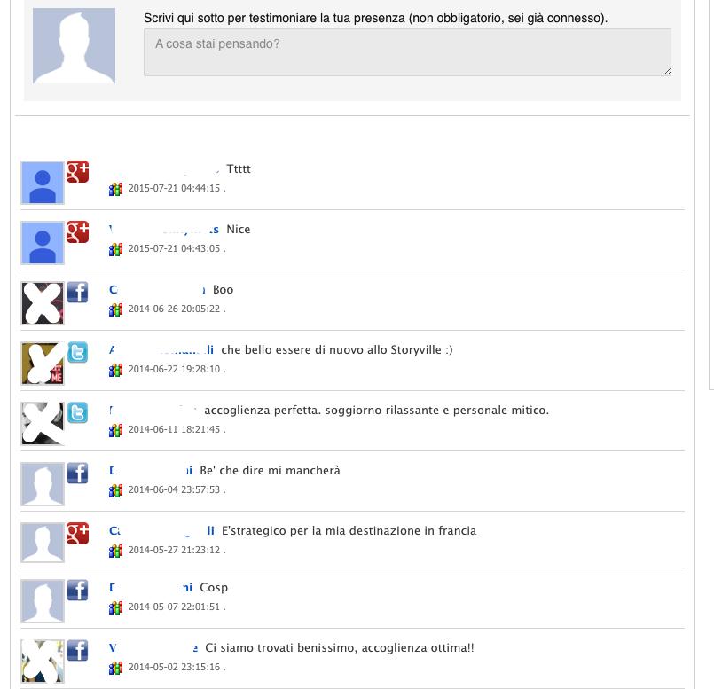 Social network e commenti