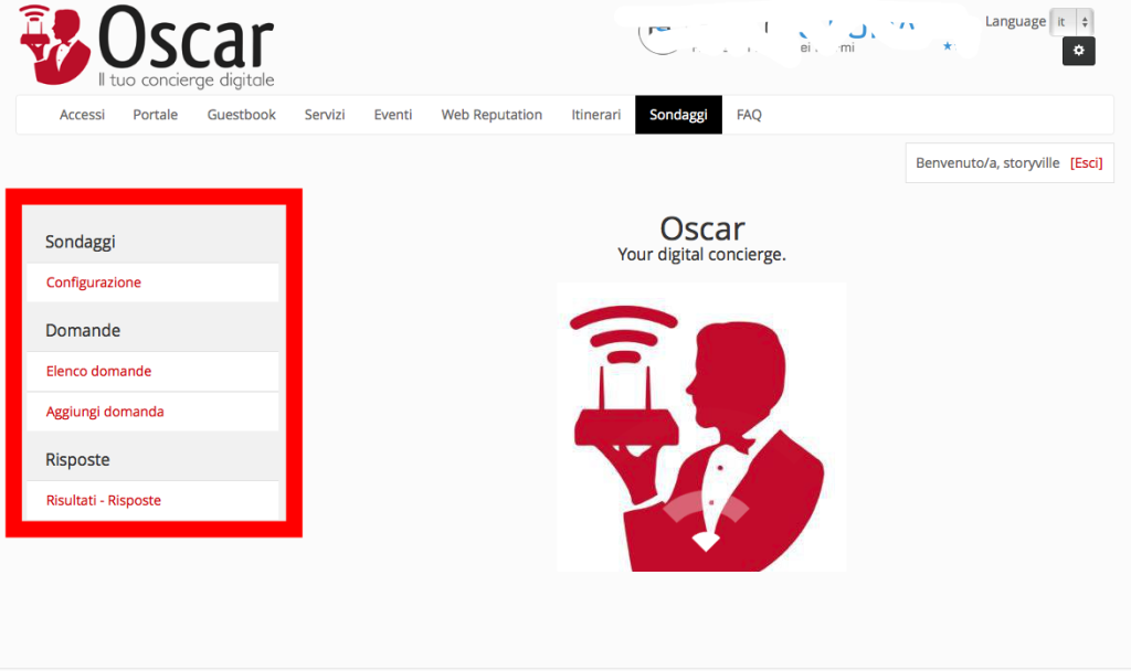 Oscar WiFi sondaggi