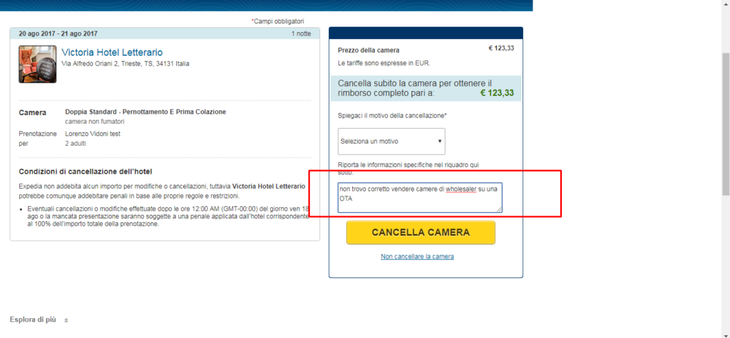 La strategia opaca di Expedia